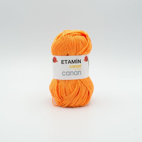 Пряжа Etamin Canan оранжевый E-125