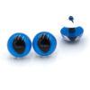 Глазки для игрушек Кошка Рептилия голубые 14082
