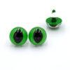 Глазки для игрушек Кошка Рептилия зеленые 14070