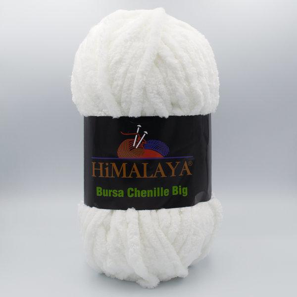 Пряжа плюшевая Himalaya Bursa Big белый