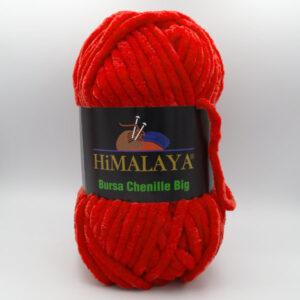 Пряжа плюшевая Himalaya Bursa Big красный