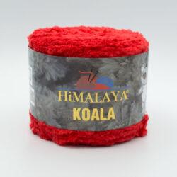 Пряжа плюшевая Himalaya Koala 75726 красный
