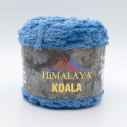 Пряжа плюшевая Himalaya Koala 75727 голубой джинс