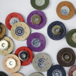 Магнитная кнопка для сумки пришивная экокожа 35 мм