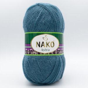 Пряжа Nako Astra 185 голубой джинс