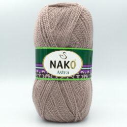 Пряжа Nako Astra 5693 сиреневый мокко