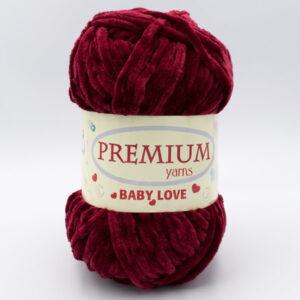 Пряжа Premium Baby Love 322 бордо