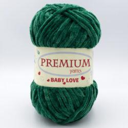 Пряжа Premium Baby Love 331 зеленый