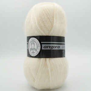 Пряжа Madame Tricote Angora молочный 004 молочный
