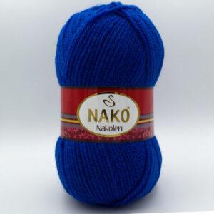 Пряжа Nako Nakolen 5329 синий электрик