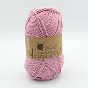 Пряжа Vizell Naturel Cotton сухая роза светлая
