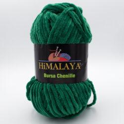 Пряжа плюшевая Himalaya Bursa Chenille зеленый 331