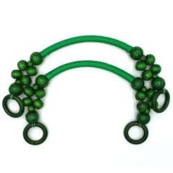 Комплект ручек для сумки Веста зеленый