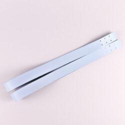 Комплект ручек пришивных экокожа голубой 69*2,7 см