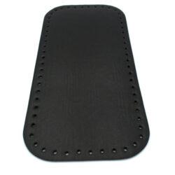 Донышко для сумки прямоугольное экокожа 15х31 черное