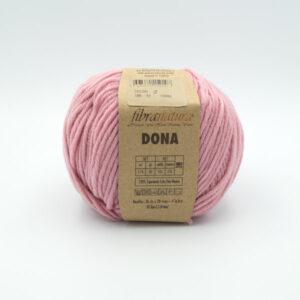 Пряжа Fibranatura Dona 106-12 розовый