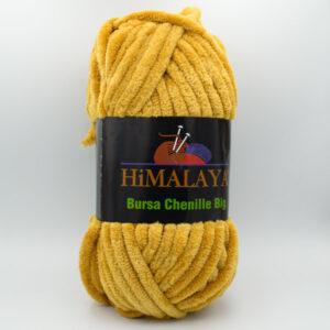 Пряжа плюшевая Himalaya Bursa Big горчичный