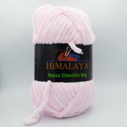 Пряжа плюшевая Himalaya Bursa Big нежно розовый