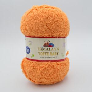 Пряжа плюшевая Himalaya Toffee Baby 78109 оранжевый