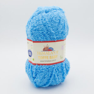 Пряжа плюшевая Himalaya Toffee Baby 78113 голубая бирюза