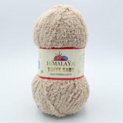 Пряжа плюшевая Himalaya Toffee Baby 78117 бежевый