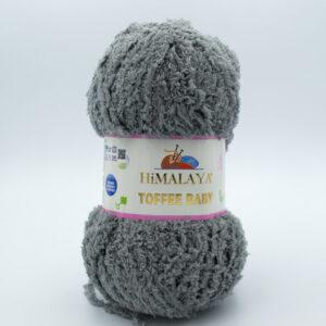 Пряжа плюшевая Himalaya Toffee Baby 78119 серый
