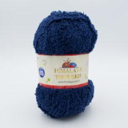 Пряжа плюшевая Himalaya Toffee Baby 78120 темно-синий