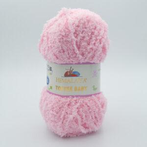 Пряжа плюшевая Himalaya Toffee Baby 78124 розовый
