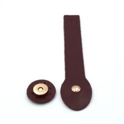 Клапан для сумки Бордо 3-18 см фурнитура золото