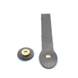 Клапан для сумки Металлик 3-18 см фурнитура золото