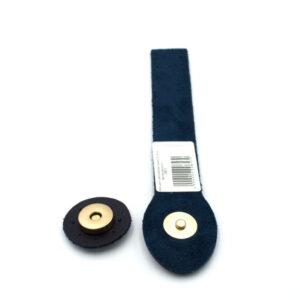 Клапан для сумки Синий 3-18 см фурнитура золото
