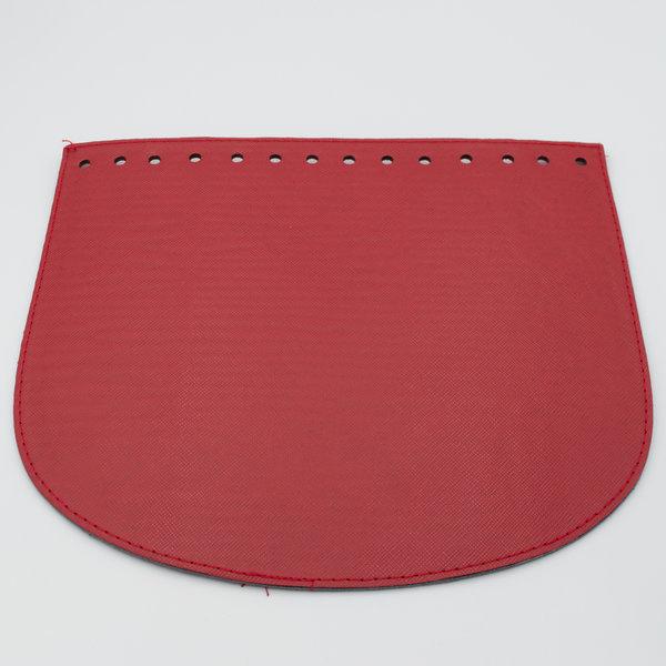Клапан экокожа Красный 22-19 см