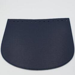 Клапан экокожа Синий 22-19 см