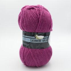 Пряжа Madame Tricote Cashmere Gold 051 фуксия