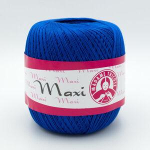 Пряжа Madame Tricote Maxi 4915 синий