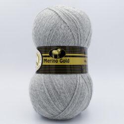 Пряжа Madame Tricote Merino Gold 007 серый