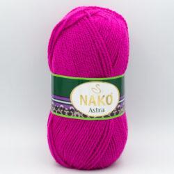 Пряжа Nako Astra 10888 малиновый