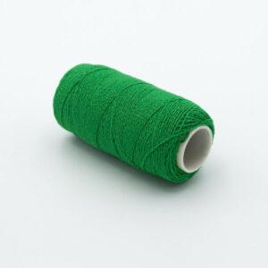 Нитка-резинка зеленая