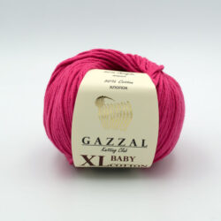 Пряжа Gazzal Baby Cotton XL 3415XL малиновый
