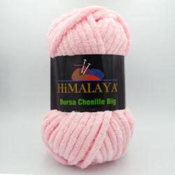Пряжа плюшевая Himalaya Bursa Big светло-розовый