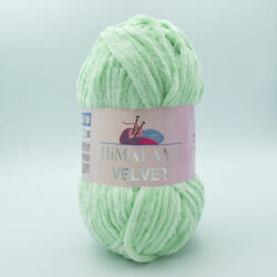 Пряжа плюшевая Himalaya Velvet 90007 мята