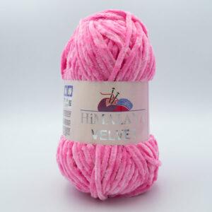 Пряжа плюшевая Himalaya Velvet 90009 розовый