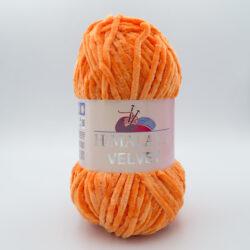 Пряжа плюшевая Himalaya Velvet 90016 оранжевый