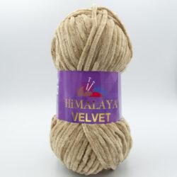 Пряжа плюшевая Himalaya Velvet 90017 бежевый