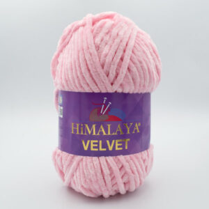 Пряжа плюшевая Himalaya Velvet 90019 светло-розовый