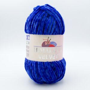 Пряжа плюшевая Himalaya Velvet 90029 синий