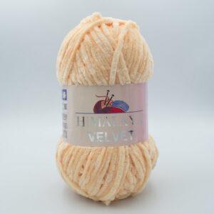 Пряжа плюшевая Himalaya Velvet 90033 светлый персик