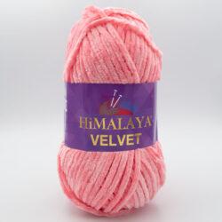 Пряжа плюшевая Himalaya Velvet 90046 розовый
