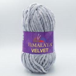 Пряжа плюшевая Himalaya Velvet 90051 серый