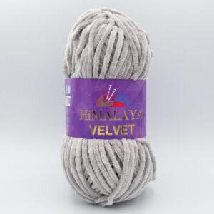 Пряжа плюшевая Himalaya Velvet 90057 серо-бежевый